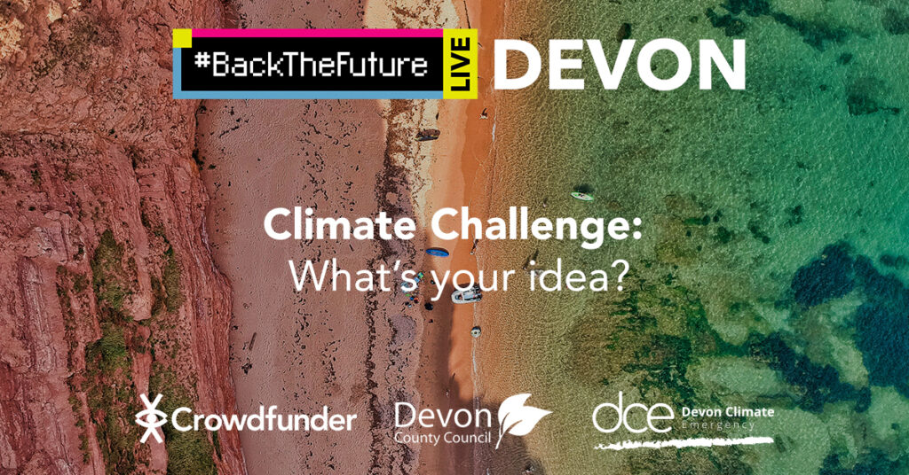 #BackTheFuture Climate Challenge: What's your idea?